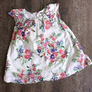 Old navy infant floral dress